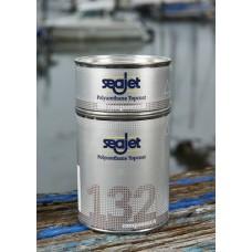 SEAJET 132 финишная полиуритановая краска, двухкомпонентная, темно-синяя 1л