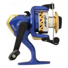 Катушка Fisher SY200A синяя алюминиевая шпуля