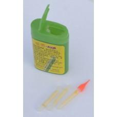 Световой сигнализатор поклевки (палочка) зеленая 15шт