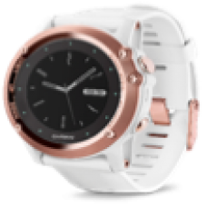 fēnix® 3, Sapphire, Rose Gold tone with White Band